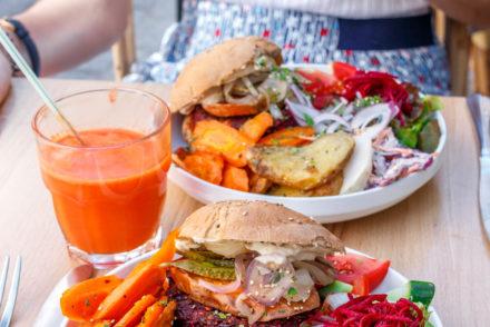 Brunch végétarien Cantine primeur