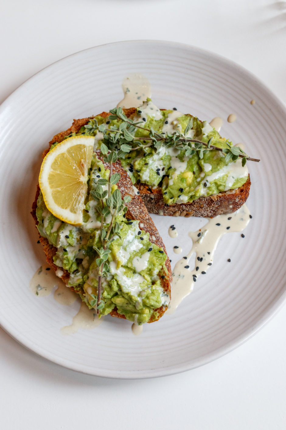 Cotton Cake avocado toast