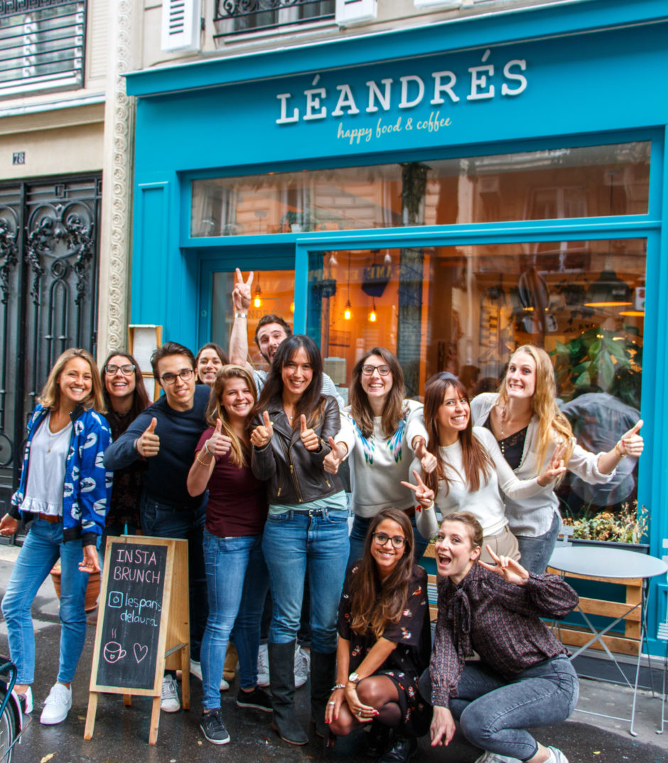 Insta Brunch Paris 6 chez Leandres Happy Food - Les Paris de Laura
