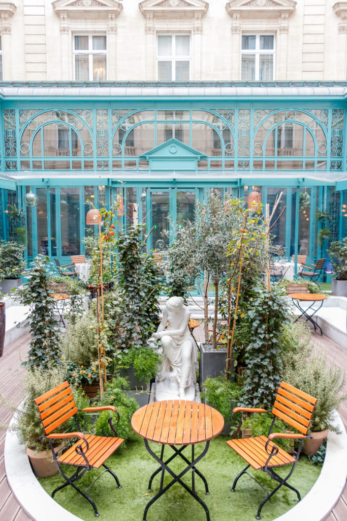 Le Jardin D Hiver Du Westin Paris Vendome Les Paris De Laura