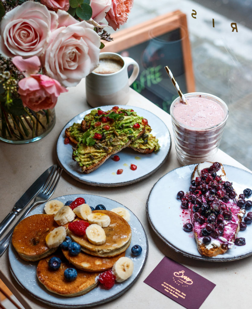Brunch Café Berry Paris