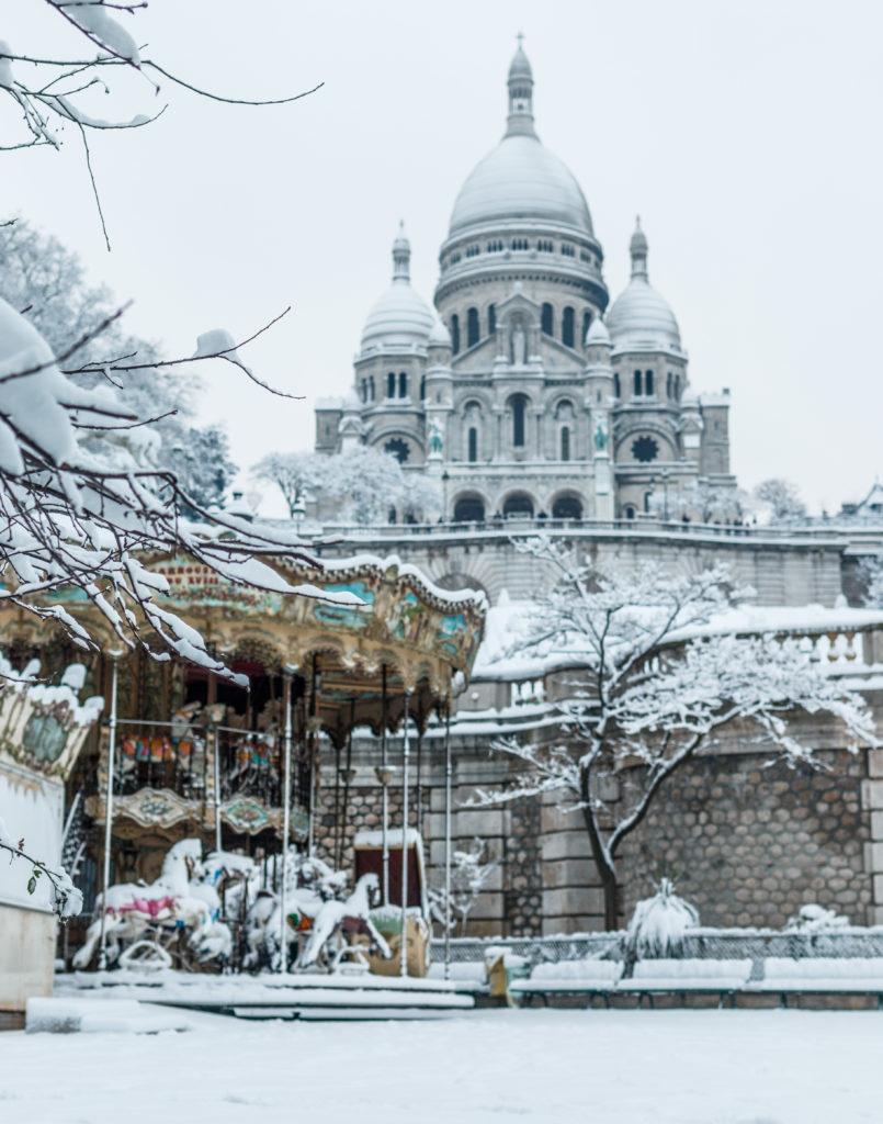 Montmartre Sacré coeur Les Paris de Laura