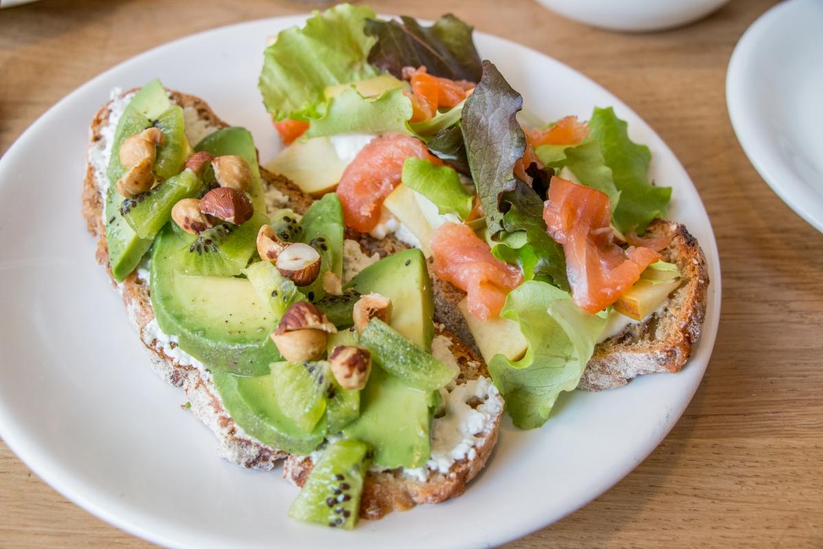 Tartine Avocat kiwi FRINGE