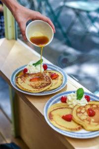 Pancakes brunch aimé