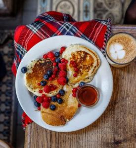 Pancakes Passager Café Paris